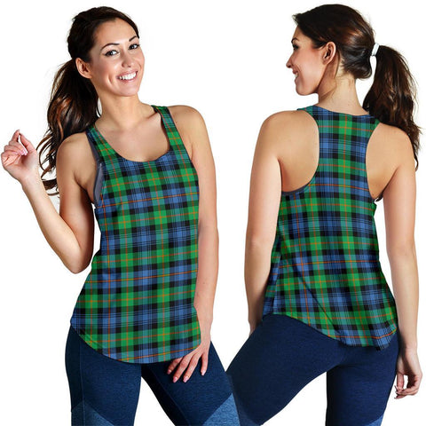 Image of ScottishShop Murray Of Atholl Ancient Tartan Women Racerback Tank