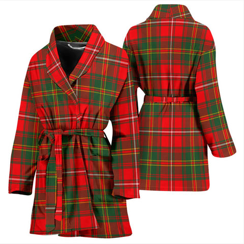 ScottishShop Hay Modern Bathrobe | Women Tartan Plaid Bathrobe