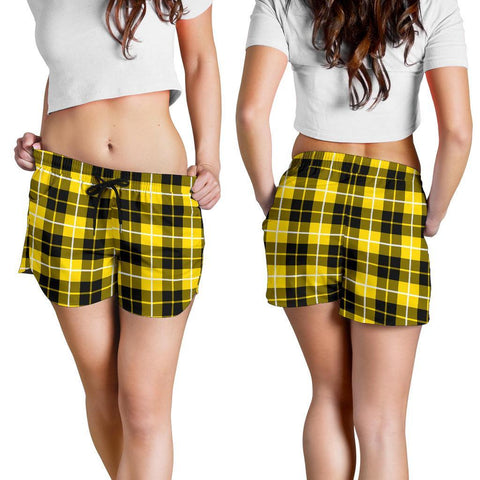 Image of ScottishShop Barclay Dress Modern Tartan Shorts For Women