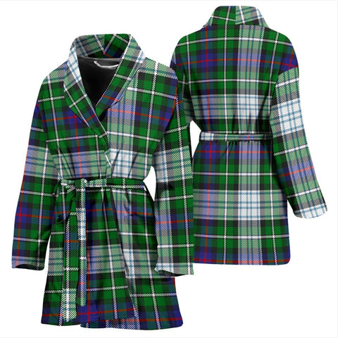 MacKenzie Dress Modern Bathrobe | Women Tartan Plaid Bathrobe | Universal Fit