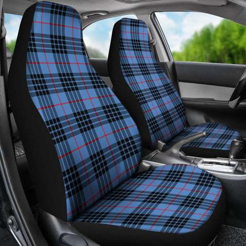 Seat Cover - Tartan Mackay Blue Car Seat Cover - Universal Fit