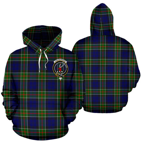 ScottishShop Colquhoun Tartan Clan Badge Hoodie