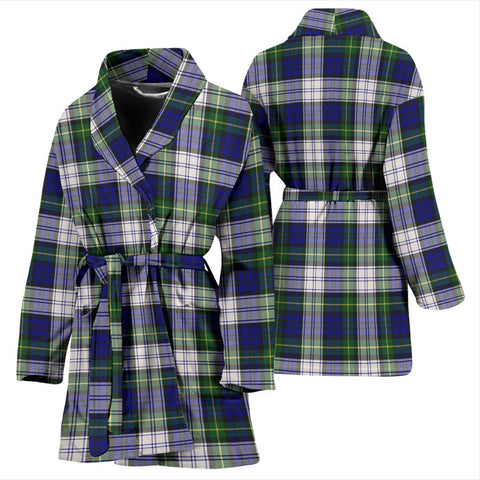 Image of ScottishShop Gordon Dress Modern Bathrobe | Women Tartan Plaid Bathrobe