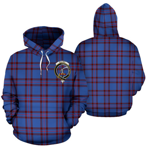 ScottishShop Elliot Tartan Clan Badge Hoodie