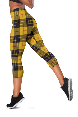 Macleod Of Lewis Ancient Tartan Capris Leggings