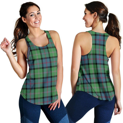 Image of Macthomas Ancient Tartan Women Racerback Tank