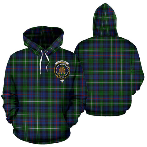 ScottishShop Mackenzie Tartan Clan Badge Hoodie