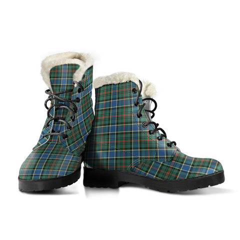 Image of Ogilvie Hunting Ancient Tartan Boots For Women