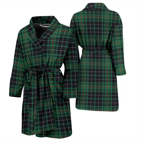 ScottishShop MacAulay Hunting Ancient Bathrobe | Men Tartan Plaid Bathrobe