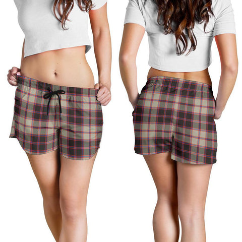 ScottishShop Macpherson Hunting Ancient Tartan Shorts For Women