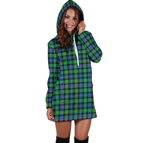 Hoodie Dress - Murray of Atholl Ancient Tartan Hooded Dress