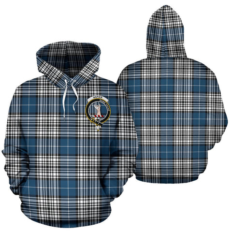 ScottishShop Napier Tartan Clan Badge Hoodie