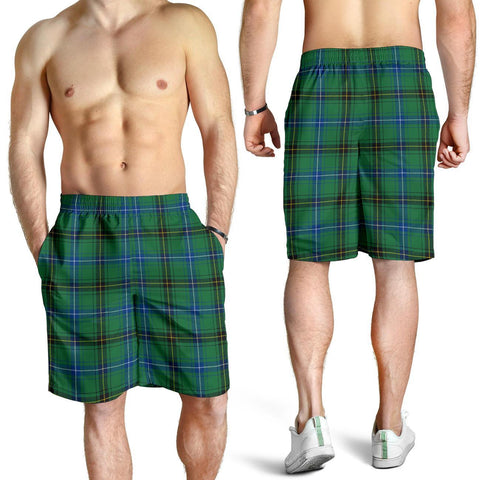 Tartan Mens Shorts - Clan Henderson Ancient Plaid Shorts