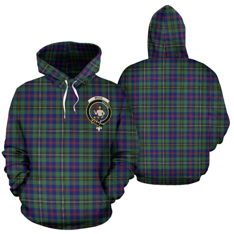 ScottishShop Wood Tartan Clan Badge Hoodie