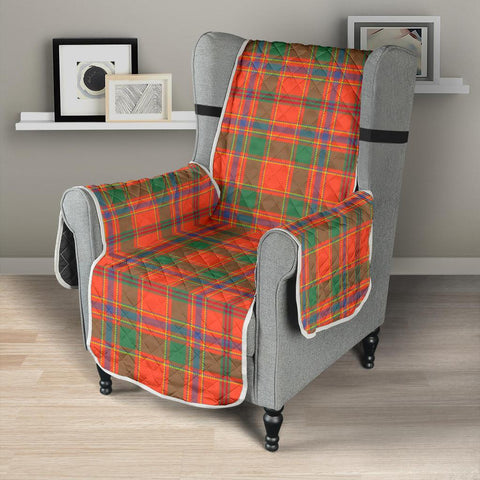 Image of Clan Munro Ancient Plaid Sofa Protector - 23 Inches