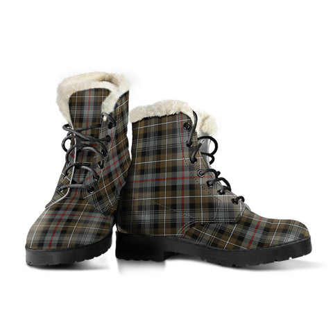 Mackenzie Weathered Tartan Boots For Women
