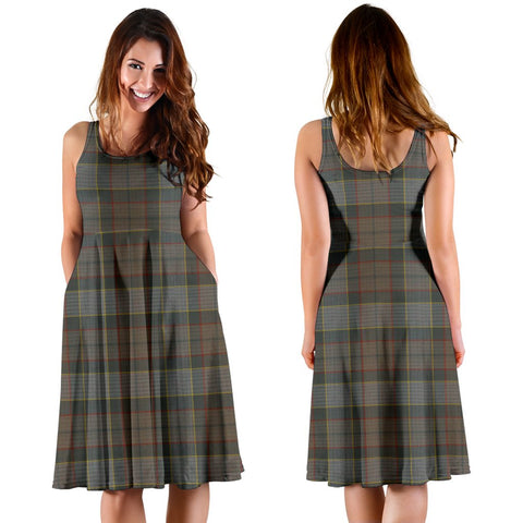 Outlander Fraser Plaid Women's Dress