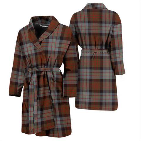 ScottishShop Cameron Of Erracht Weathered Bathrobe | Men Tartan Plaid Bathrobe