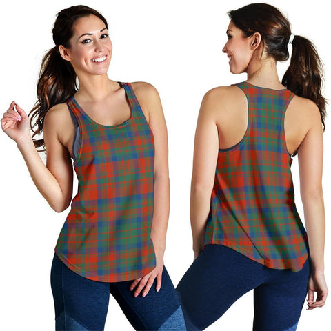ScottishShop Matheson Ancient Tartan Women Racerback Tank