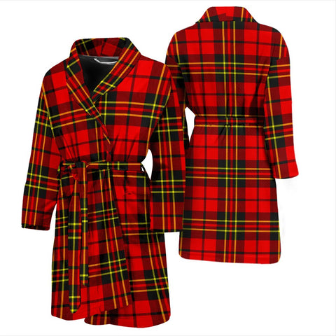 ScottishShop Brodie Modern Bathrobe | Men Tartan Plaid Bathrobe