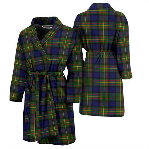 ScottishShop MacLaren Modern Bathrobe | Men Tartan Plaid Bathrobe