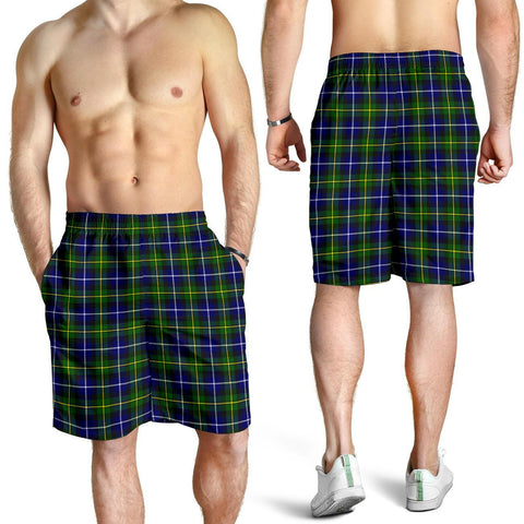 Image of Tartan Mens Shorts - Clan MacNeill of Barra Modern Plaid Shorts
