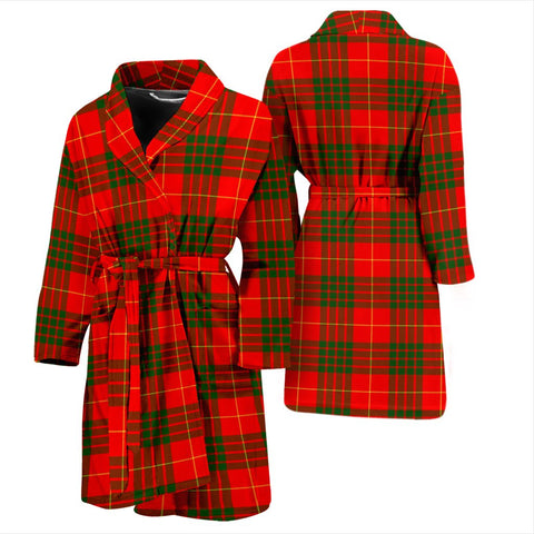 ScottishShop Cameron Modern Bathrobe | Men Tartan Plaid Bathrobe