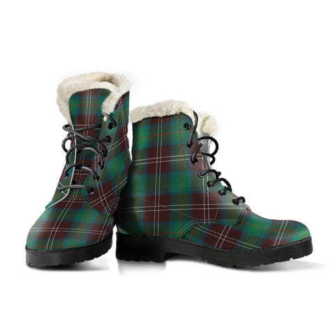 Chisholm Hunting Ancient Tartan Boots For Women