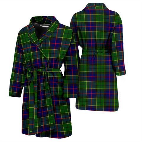 Forsyth Modern Bathrobe | Men Tartan Plaid Bathrobe | Universal Fit