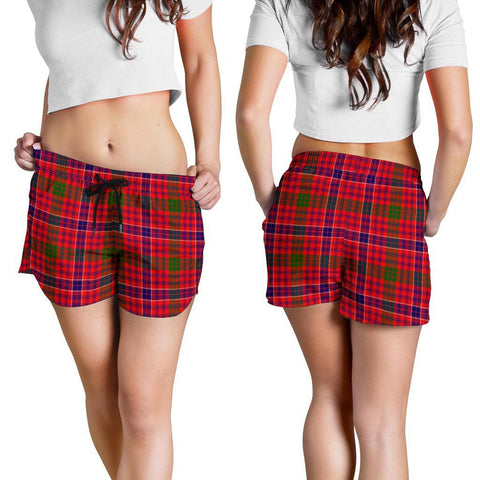 ScottishShop Macrae Modern Tartan Shorts For Women