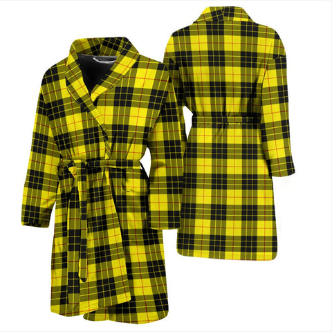 MacLeod Of Lewis Modern Bathrobe | Men Tartan Plaid Bathrobe | Universal Fit
