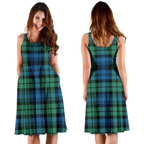 Campbell Ancient 01 Plaid Women's Dress