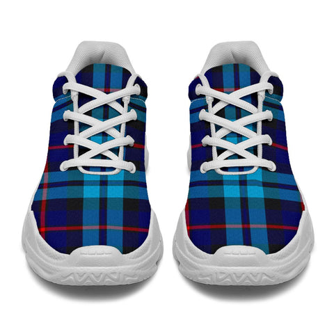 Chunky Sneakers - Tartan McCorquodale Shoes
