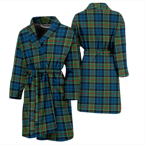 ScottishShop Colquhoun Ancient Bathrobe | Men Tartan Plaid Bathrobe