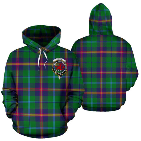 Young Tartan Clan Badge Hoodie HJ4