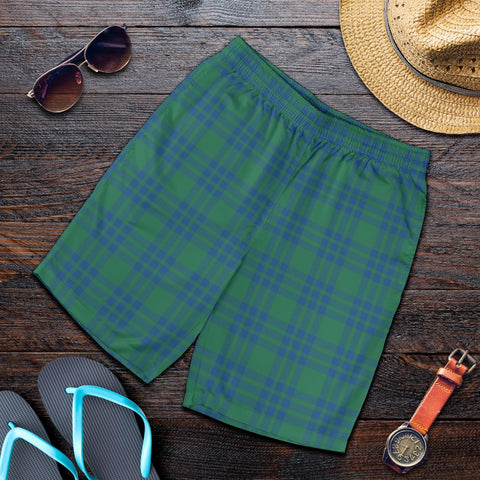 Tartan Mens Shorts - Clan Montgomery Ancient Plaid Shorts