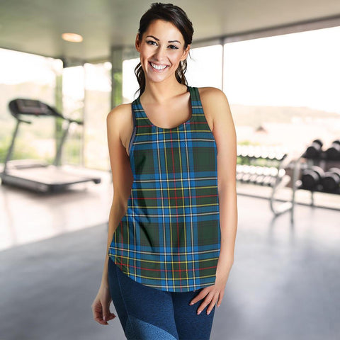 ScottishShop Cockburn Modern Tartan Women Racerback Tank