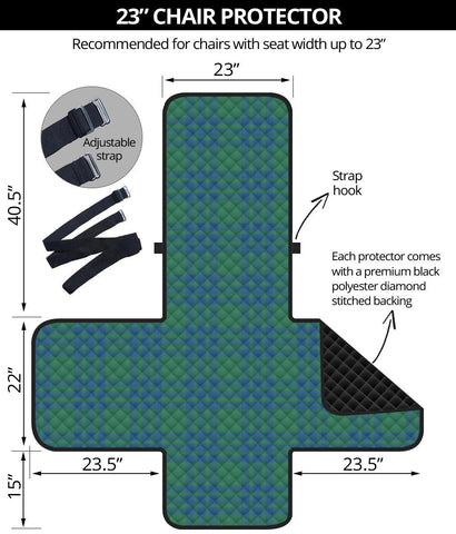 Clan Montgomery Ancient Plaid Sofa Protector - 23 Inches