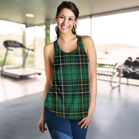 Macalpine Ancient Tartan Women Racerback Tank