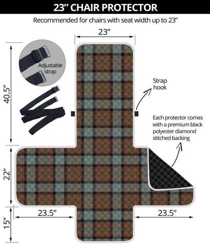 Clan MacLaren Weathered Plaid Sofa Protector - 23 Inches