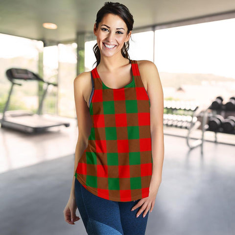 Image of ScottishShop Moncrieffe Tartan Women Racerback Tank