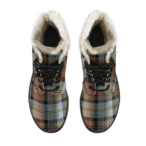 Macleod Of Harris Weathered Tartan Boots For Men