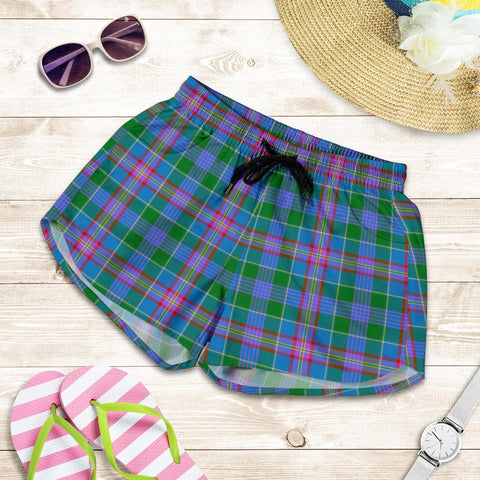 Ralston Tartan Shorts For Women