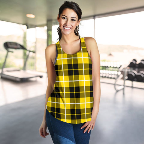 ScottishShop Barclay Dress Modern Tartan Women Racerback Tank