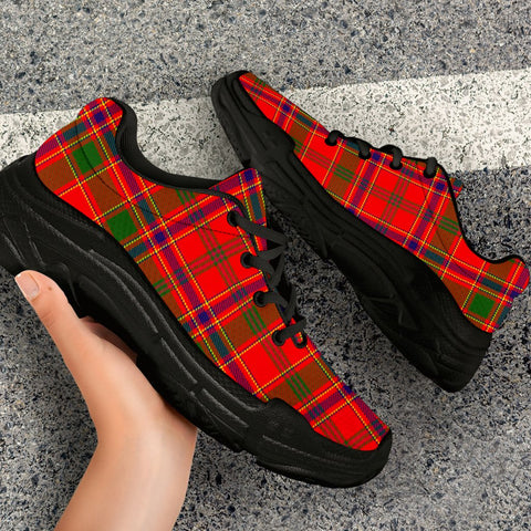 Image of Chunky Sneakers - Tartan Munro Modern Shoes