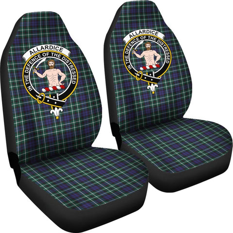 ScottishShop Seat Cover - Tartan Crest Allardice Car Seat Cover Clan Badge - Universal Fit