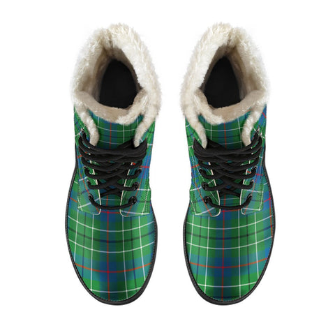 Image of Duncan Ancient Tartan Boots For Men