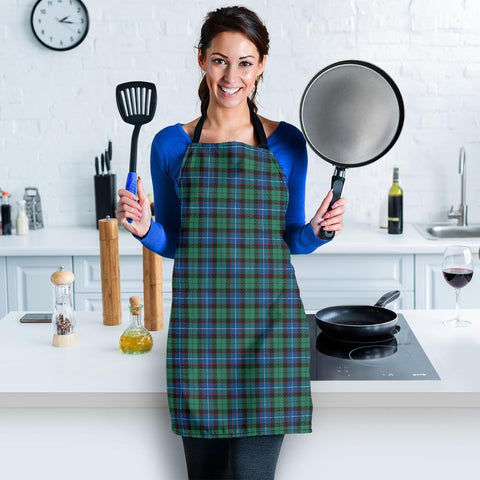 Tartan Apron - Hunter Ancient Apron HJ4