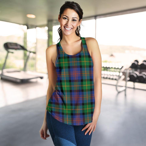 ScottishShop Logan Ancient Tartan Women Racerback Tank