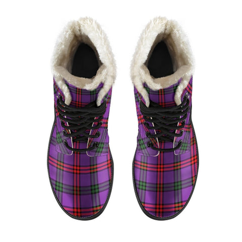 Image of Montgomery Modern Tartan Boots For Men